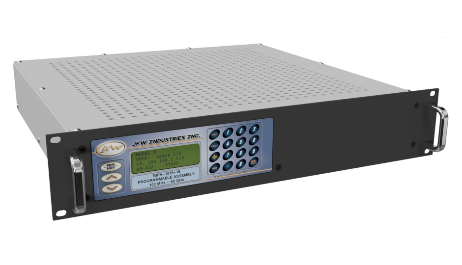 Ethernet/RS-232 controllable Attenuator